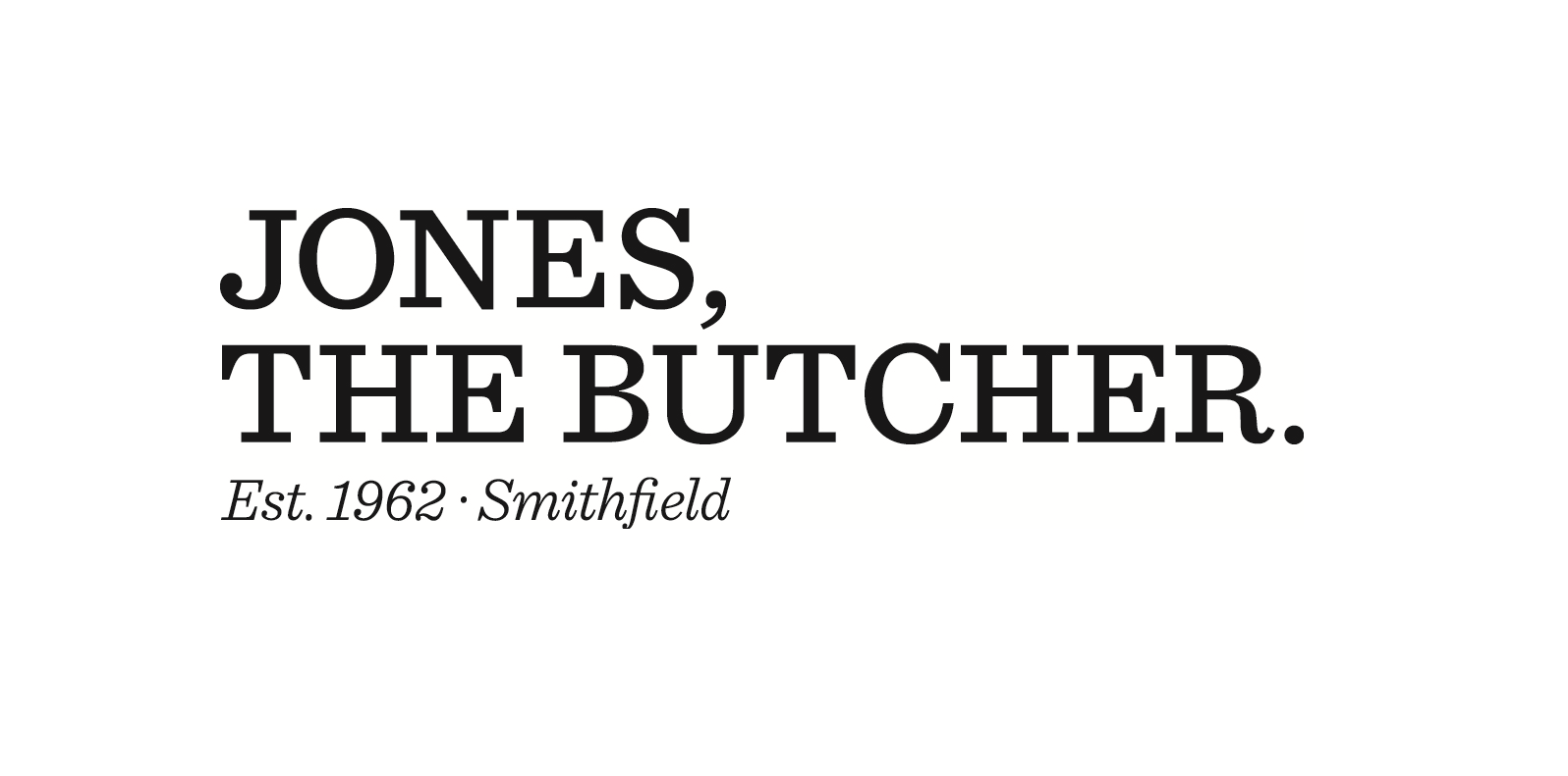 Jones, the Butcher